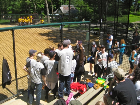 Newsies Softball May 17, 2012