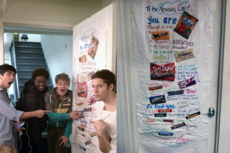 The Newsies put my poster on their Tumblr!