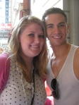 Me and Richard Fleeshman