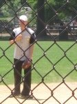 Jeremy Jordan at Newsies Softball