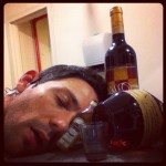 Steve Kazee Passed Out