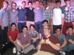 Newsies Group with Chris
