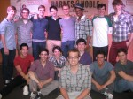 Newsies Group with Mike