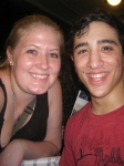 Jess LeProtto and Me June 30, 2013
