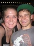 Andrew Keenan-Bolger and Me June 30, 2013