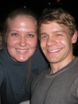 Andrew Keenan-Bolger and I - July 2, 2012