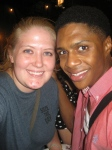 Ephraim Sykes and I - July 2, 2012