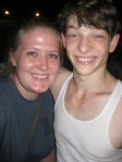 Mike Faist and I - July 2, 2012