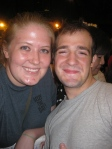 Evan Kasprzak and I - July 2, 2012