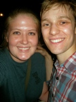 Brendon Stimson and I - July 2, 2012