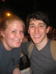 Ben Fankhauser and I - July 2, 2012