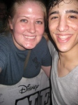 Jess LeProtto and I - July 2, 2012
