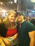 Corey Cott and I - September 28, 2012